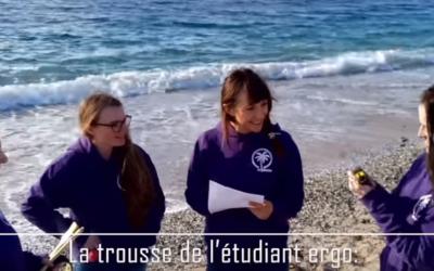 Les étudiants ergothérapeutes de l'IFPVPS font leur cinéma !